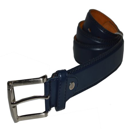 Jeans Belt Big and Tall Genuine leather by -