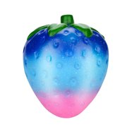 DZT1968 Jumbo Galaxy Strawberry Scented Squishy Charm Slow Rising Stress Reliever Toy