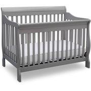 Delta Children Canton 4-in-1 Convertible Crib Gray