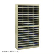 Scranton & Co Sand Mail Organizer - 72 Letter Size Compartments