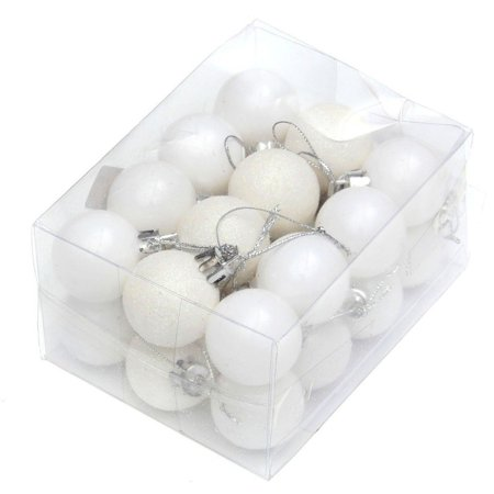 ENJOY 24pcs Christmas Tree Baubles Balls Decor Ornament Xmas Wedding Party Decorations](Christmas Ornament Costume)