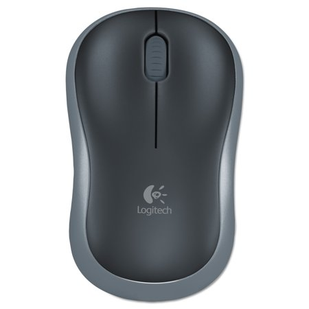 Logitech M185 Wireless Mouse (Silver Rf Wireless Optical Mouse)
