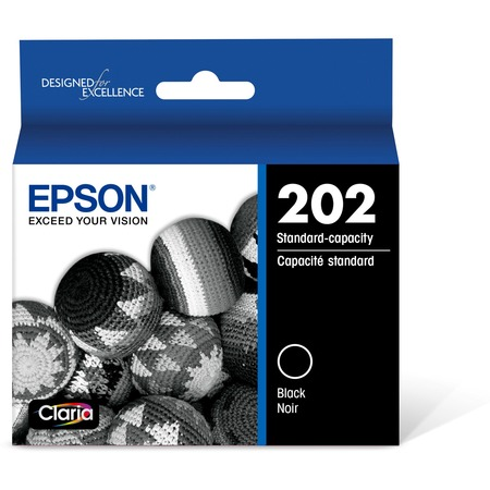 Epson 202 Standard-capacity Black Ink Cartridge for XP-5100 and