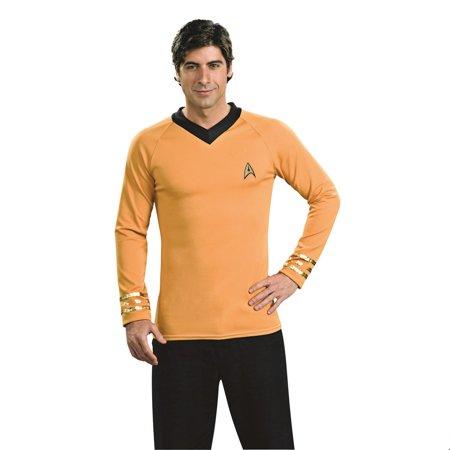 Star Trek Mens Deluxe Captain Kirk Halloween Costume](Lahaina Hi Halloween)