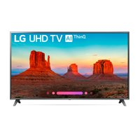 "LG 75"" Class 4K (2160) HDR Smart LED UHD TV w/AI ThinQ - 75UK6570PUB"