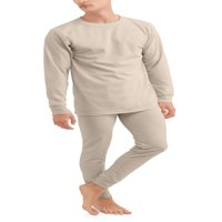 Men's 2 Piece Thermal Top and Bottom Set