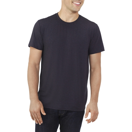 - Fruit of the Loom Men's everlight crew t-shirt, up to size 2xl