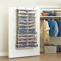 Better Homes & Gardens® Charleston Collection 24 Shelf Over the Door Shoe Organizer