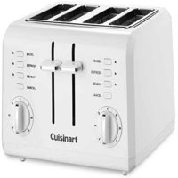 Cuisinart 4-Slice Compact Plastic Toaster, White