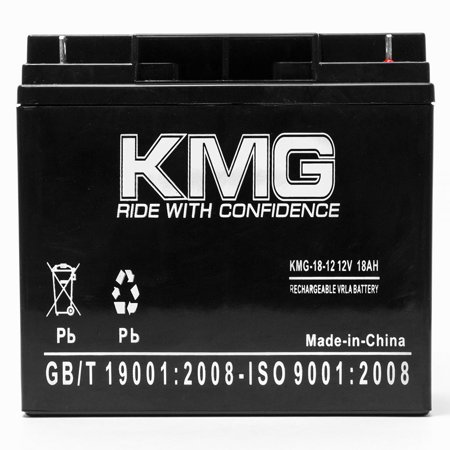 KMG 12V 18Ah Replacement Battery for Alpha UPS1000 UPS1500 UPS2000 UPS2200 UPS600 - image 1 of 3