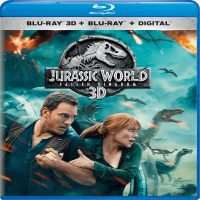 Jurassic World: Fallen Kingdom (Blu-ray 3D + Blu-ray + Digital)