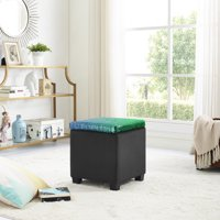 Mainstays Reversible Color Changing Sequin Storage Ottoman, Multiple Colors