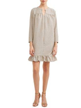 Women's Ruffle Hem Dress
