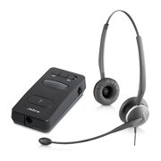 751f73e92f3 Jabra GN 2125 Duo Noise-Canceling Corded Headset w/ Link 850 Advanced  Amplifier