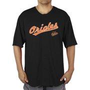 4efc7ed39 MLB Baltimore Orioles Men s Poly Button Down Jersey