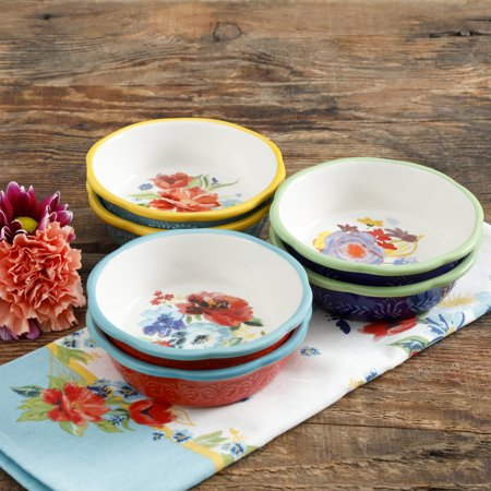 - The Pioneer Woman Spring 5-Inch Mini Pie Plates, Set of 6