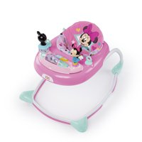 Disney Baby Minnie Mouse Stars & Smiles Walker with Wheels and Activity Center