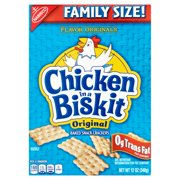 (2 Pack) Nabisco Chicken in a Biskit Snack Crackers, Original, 12 Oz