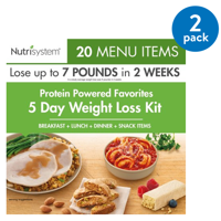 Nutrisystem 5 Day Protein Powered Weight Loss Kit, 5.3 lbs, 15 Meals, 5 Snacks