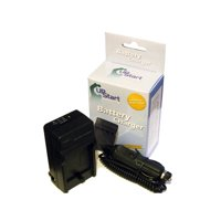 Sony Cybershot DSC-HX9V Charger & Car Plug Adapter - Replacement for Sony NP-BG1 Digital Camera Chargers (100-240V)