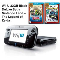 Refurbished Wii U 32GB Deluxe Console With Gamepad Nintendo Land The Legend Of Zelda: The Wind Waker
