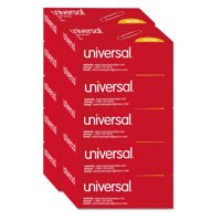 Universal Smooth Paper Clips, Wire, Jumbo, Silver, 100/Box, 10 Boxes/Pack -UNV72220