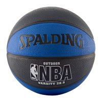 "Spalding NBA Varsity 28.5"" Basketball - Black/Blue"