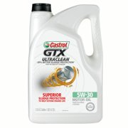 (9 Pack) Castrol GTX ULTRACLEAN 5W-30 Motor Oil, 5 QT.