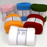 David Textiles Anti-pill Fleece Precut Fabric Solid 1.5 Yds X 60 Inches