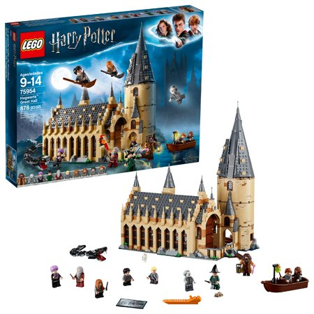 LEGO Harry Potter TM Hogwart Great Hall 75954 Toy of the Year 2019 - Lego Halloween Games