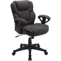 Serta Mesh Fabric Big and Tall Swivel Manager Office Chair, Multiple Colors