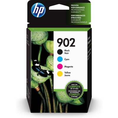 HP 902 CMYK Ink Crtg Combo 4-Pack ()