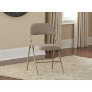Cosco Home and Office Fabric Padded Folding Chair (Set of 4)