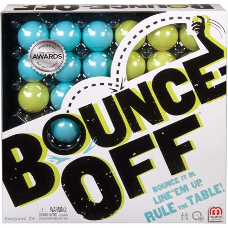 Bounce-Off Challenge Pattern Game for 2-4 Players Ages