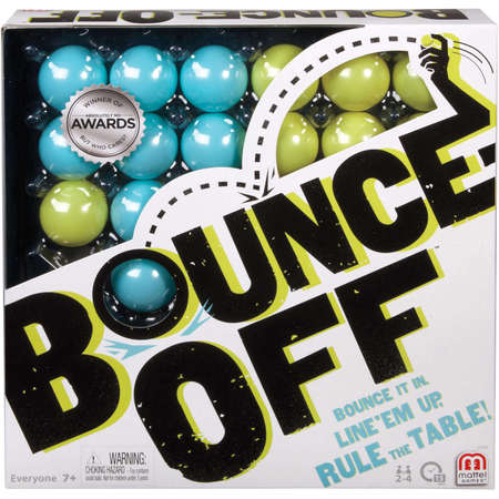 - Bounce-Off Challenge Pattern Game for 2-4 Players Ages 7Y+