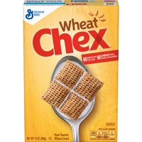 (2 Pack) Wheat Chex Cereal, 14 oz