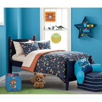 Mainstays Kids Woodland Safari Boy Bed in a Bag Bedding Set