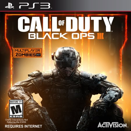 Call of Duty: Black Ops 3, Activision, PlayStation 3, (Best Ps3 Games By Year)