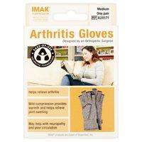 Imak Compression Medium Arthritis Gloves, one pair