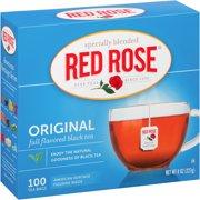 (4 Boxes) Red Rose: Original Tea Bags, 100 Ct