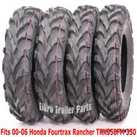 00-06 Honda Fourtrax Rancher TRX350FM 350 4X4 Set 4 ATV tires 24x8-12 & 24x9-11