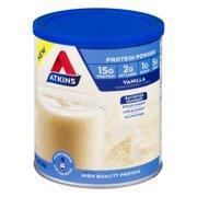 Atkins Protein Powder, Vanilla, 9.88 oz