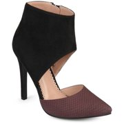 b552fac165 Women's Faux Suede Faux Leather Ankle Cuff Two-tone High Heels