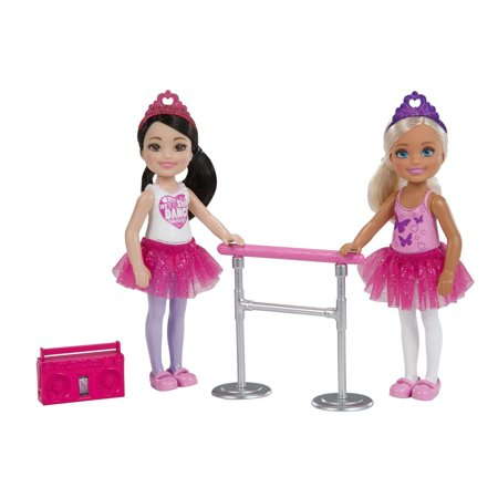 Barbie Club Chelsea Dance Playset with 2 Chelsea Dolls](Chelsea Smile)