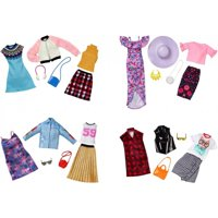 Barbie Fashion with 2-Outfits & Accessories (Styles May Vary)