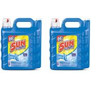(2 pack) Sun Liquid Laundry Detergent, Clean & Fresh, 250 Ounce, 178 Loads