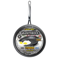 "GraniteRock 10"" Non-Stick Ultra Durable Scratch-Resistant Frying Pan – As Seen on TV!"