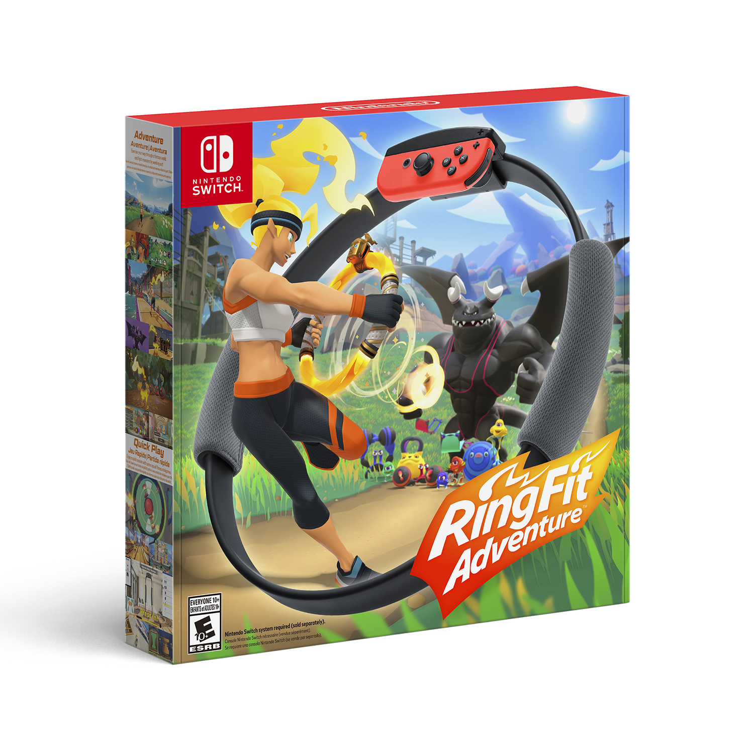 Ring Fit Adventure for Nintendo Switch by Nintendo