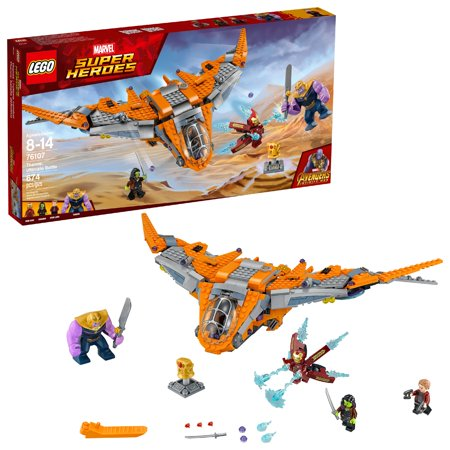 Lego Marvel Super Heroes Thanos: Ultimate Battle 76107 (674 Pieces) - Marvel Lego Sets