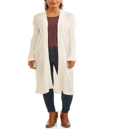 - Women's Ribbed Duster Cardigan